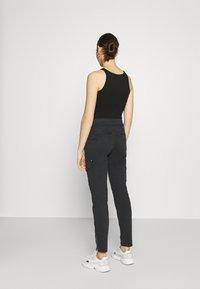 Mos Mosh - GILLES CARGO PANT - Trousers - black - 2