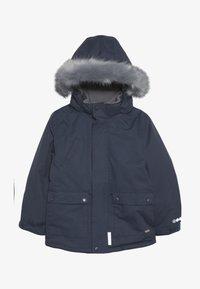 Minymo - SNOW JACKET SOLID - Zimní kabát - ombre blue - 4