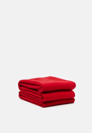EMBROIDERED SCARF UNISEX - Scarf - red