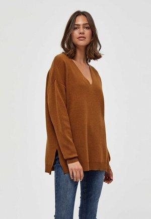 ROSALIA  - Jumper - brown