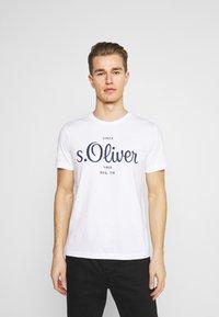 s.Oliver - Print T-shirt - white - 0