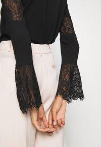 Desigual - AMELIA - Long sleeved top - black - 4