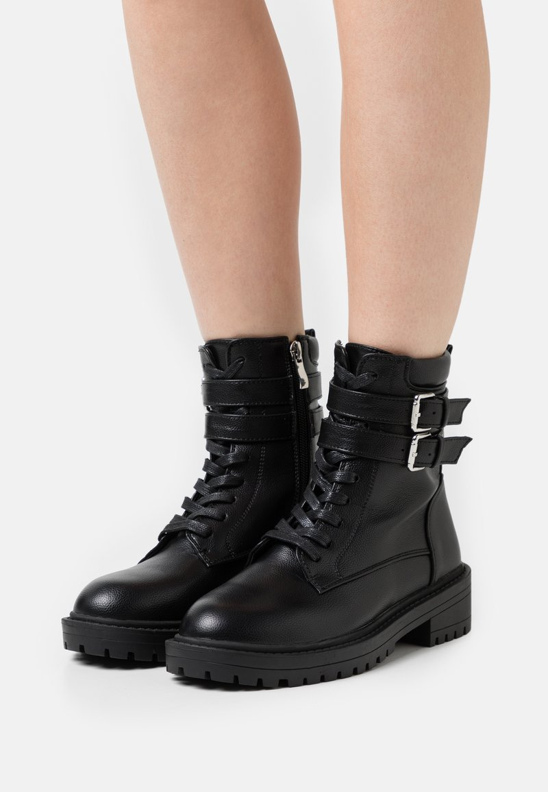 RAID - ROGER - Lace-up ankle boots - black