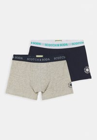 Scotch & Soda - SOLID UNDERWEAR IN 2 PACK - Boxerky - multicoloured - 0