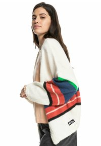 Quiksilver - OUTER SUNSET EQWSW03007 - Cardigan - white str outer sunset - 4
