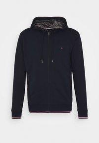 Tommy Hilfiger - BASIC HOODY - Zip-up hoodie - blue - 4