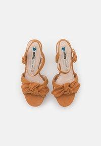 mtng - AMAZONAS - Platform sandals - tan - 5