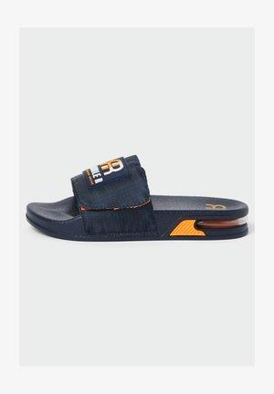 Pool slides - navy