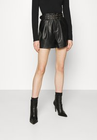 4th & Reckless - AVERY - Shorts - black - 0