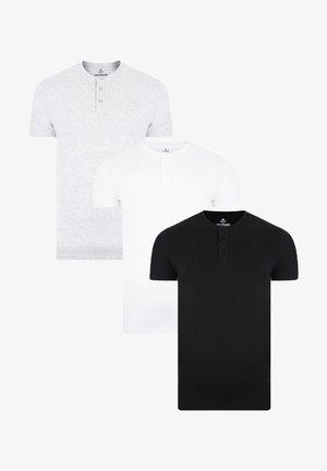 3 PACK - Basic T-shirt - grau
