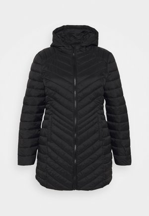 LIGHTWEIGHT PADDED JACKET - Short coat - black