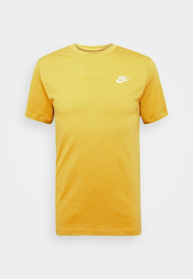 CLUB TEE - Basic T-shirt - tent/white