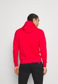 Calvin Klein Golf - ALL OVER PRINT HOODIE - Sweatshirt - red - 2