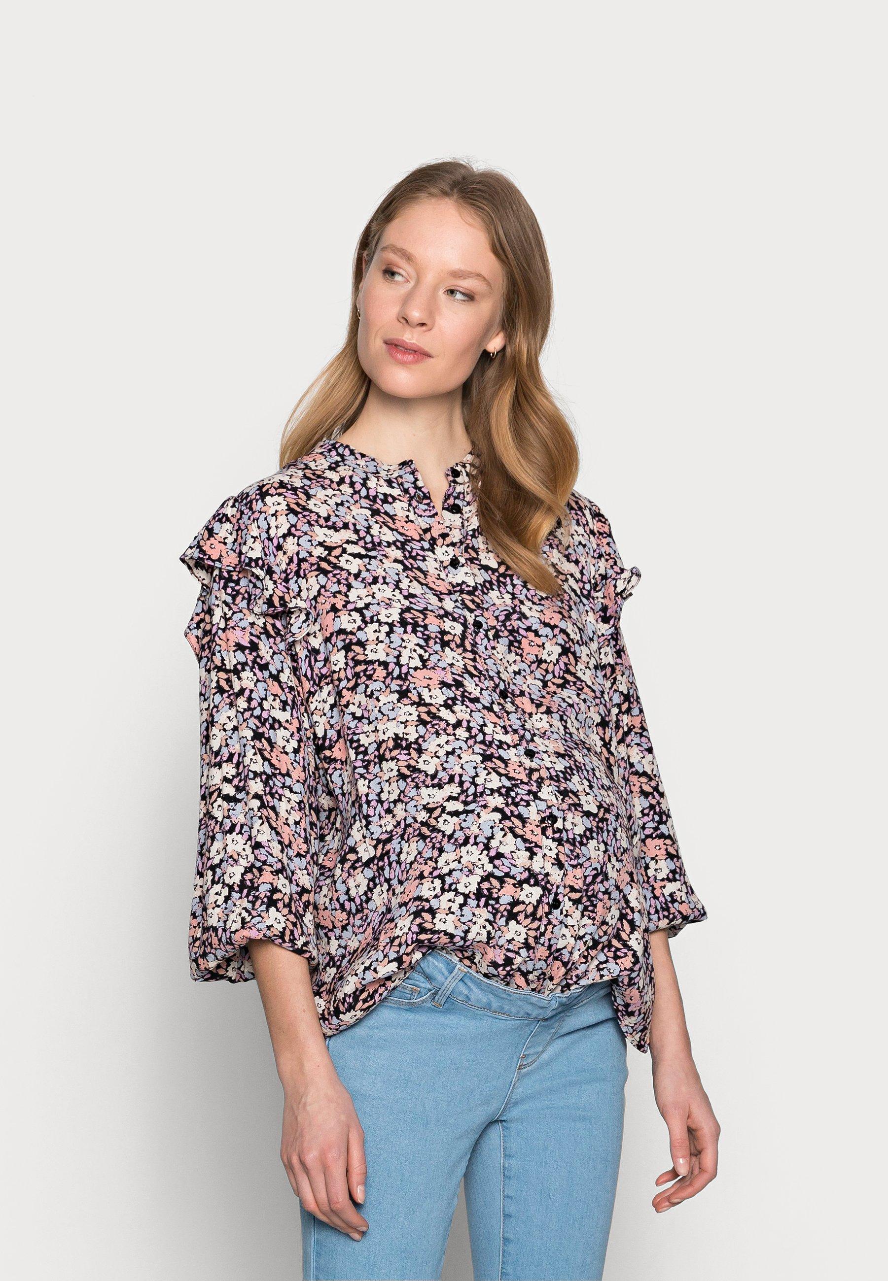 Women PCMJANA - Button-down blouse