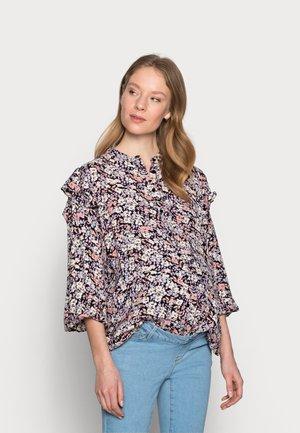 PCMJANA - Skjorte - black/rose/blue