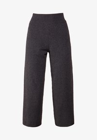 pure cashmere - LOOSE FIT PANTS - Trousers - graphite - 3