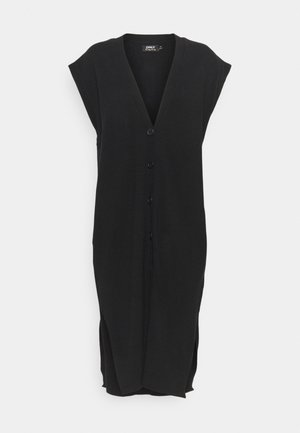 ONLLELY LONG BUTTON  - Chaleco - black