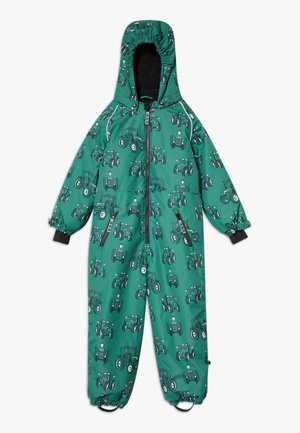 SNOWSUIT ZIPPER TRACTOR - Snowsuit - hunter green