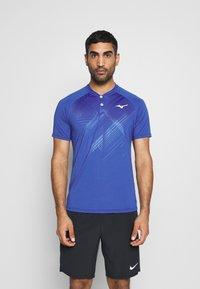 Mizuno - SHADOW - T-shirt print - mazarine blue - 0