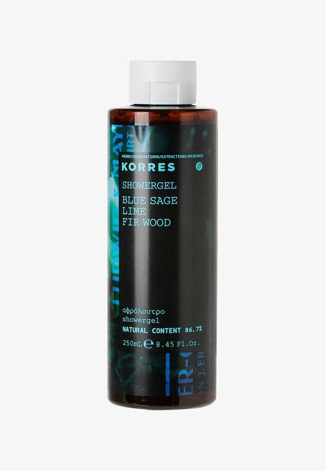 BLUE SAGE LIME FIR WOOD SHOWERGEL 250ML - Shower gel - neutral