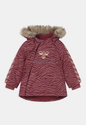 JESSIE UNISEX - Winter coat - roan rouge