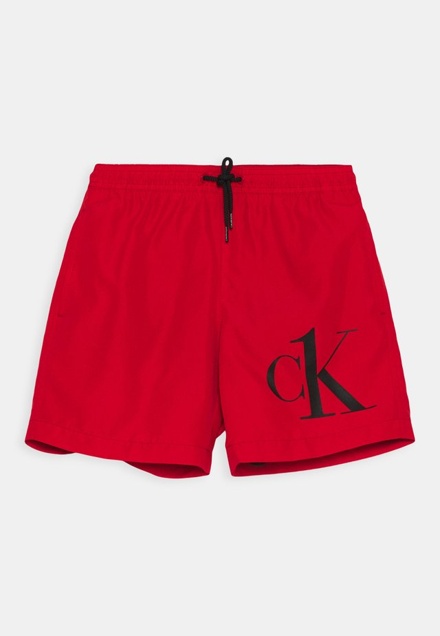 MEDIUM DRAWSTRING - Zwemshorts - fierce red