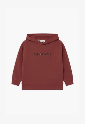 WARNER BROS FRIENDS LICENSE HOODIE - Hoodie - dark red