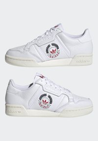 adidas Originals - CONTINENTAL 80 SHOES - Trainers - ftwr white/ftwr white/off white - 7