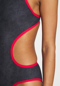 Arena - SAND ONE PIECE - Swimsuit - black/red - 4