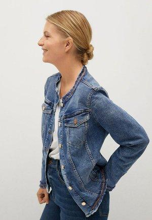 Jeansjakke - mittelblau