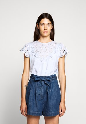 SCALLOPED - Blouse - shale blue