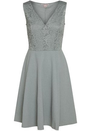 Cocktail dress / Party dress - slate grey