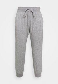 CROPPED JOGGER - Teplákové kalhoty - pilot grey