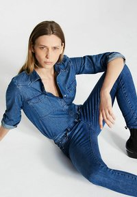 IKKS - Button-down blouse - indigo - 2