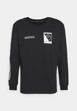 STEEP TECH TEE UNISEX - Pitkähihainen paita - black