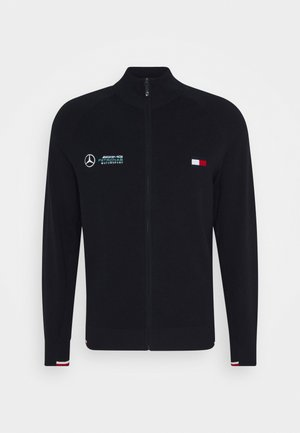 TOMMY X MERCEDES-BENZ - Cardigan - blue