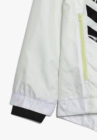adidas Performance - Training jacket - white/yeltin/black - 2