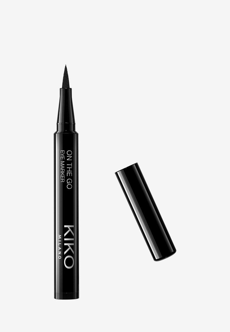 KIKO Milano - ON THE GO EYE MARKER - Eyeliner - 01 black