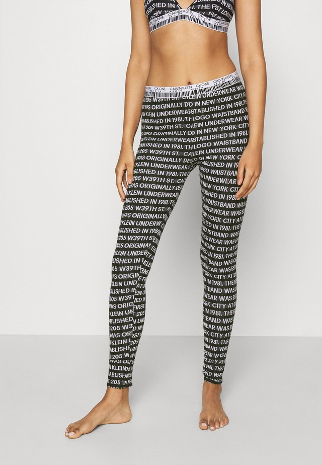 ONE LOGO  - Pantalón de pijama - black