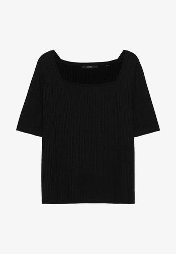 KARELI - Basic T-shirt - schwarz 15