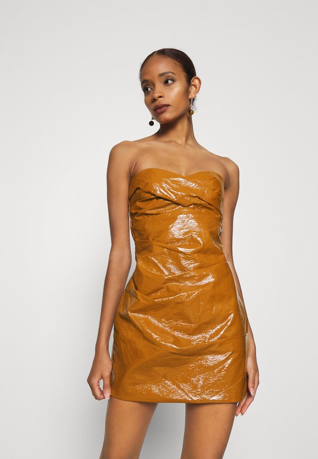 BABETTE MINI DRESS - Gallakjole - toffee