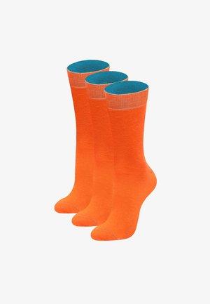 3 PACK PORTOKÁLI - Socks - orange