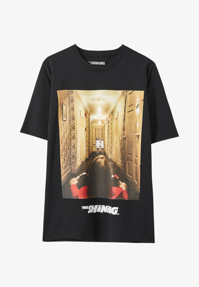 PULL&BEAR THE SHINING - T-Shirt print - black/schwarz tglPlM