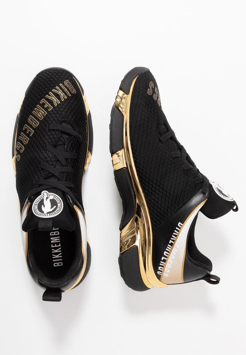 Bikkembergs Kadem Sneakersy Niskie Black Gold Czarny Zalando Pl