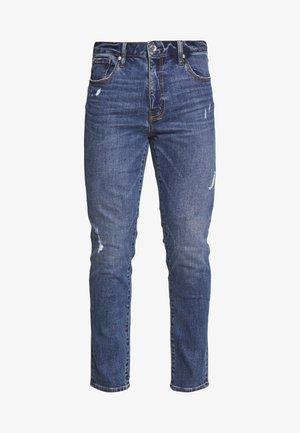 TYLER - Slim fit jeans - murphy mid blue rip