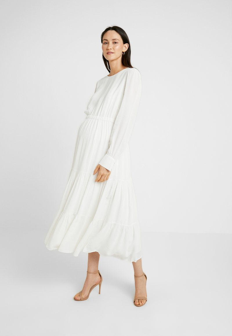 IVY & OAK Maternity - BRIDAL MATERNITY DRESS - Vestito estivo - snow white