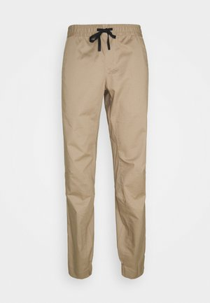 CAMIE PANTS MEN - Trousers - safari