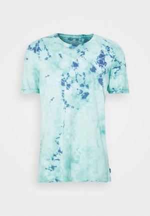 Print T-shirt - aqua green