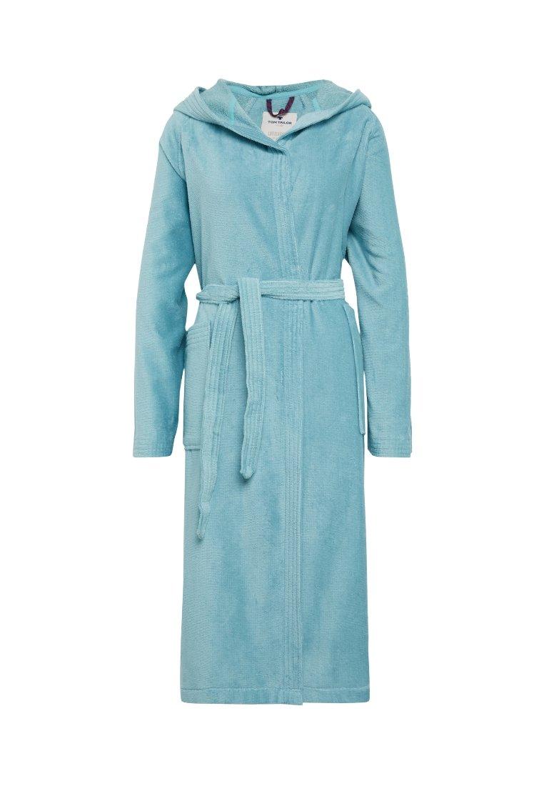 Women BASIC VELOURS - Dressing gown - light blue