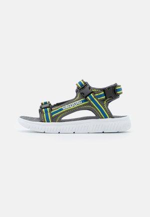 UNISEX - Walking sandals - grey/blue